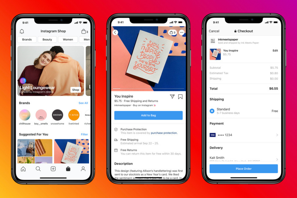 Instagram rolls out a new shopping page to its users in the US