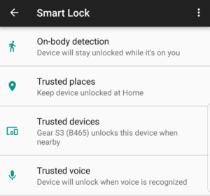 Frustrated unlocking your Samsung Galaxy S8? Enable Google Smart Lock