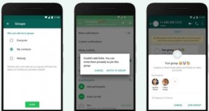 How to use WhatsApp group privacy feature to choose who can add you to groups