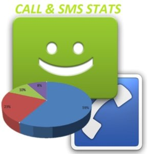 Keep a check on your call and SMS frequency with the Call & SMS stats app on Android