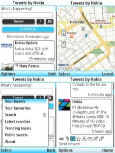 Official Twitter client for S40 devices now available