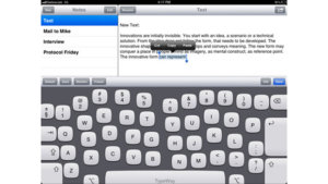 Big fingers? This iPad keyboard adjusts to fit your hands!
