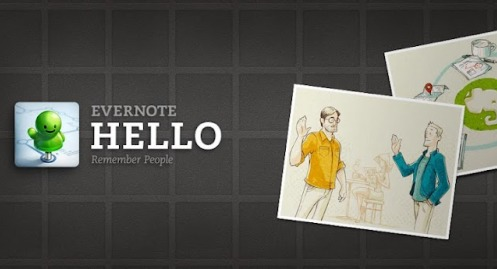 Evernote Hello now available for Android