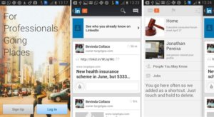 LinkedIn updates mobile apps on Android and iOS