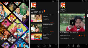 Sony LIV app for Windows 8 Phone launched