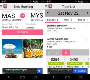 IRCTC Connect train booking app released for Android