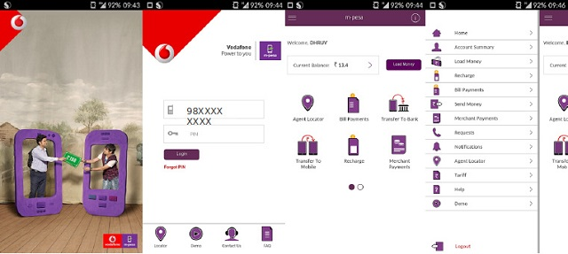 Vodafone m-pesa app launched