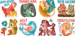 Facebook introduces special stickers for Messenger to celebrate Mother's Day