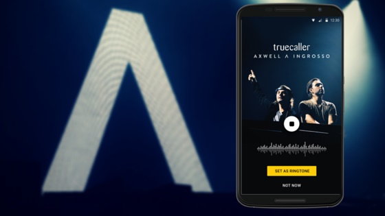 Truecaller partners with Axwell Λ Ingrosso to launch exclusive ringtone