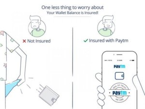 Paytm offers free Wallet Insurance to all Paytm users