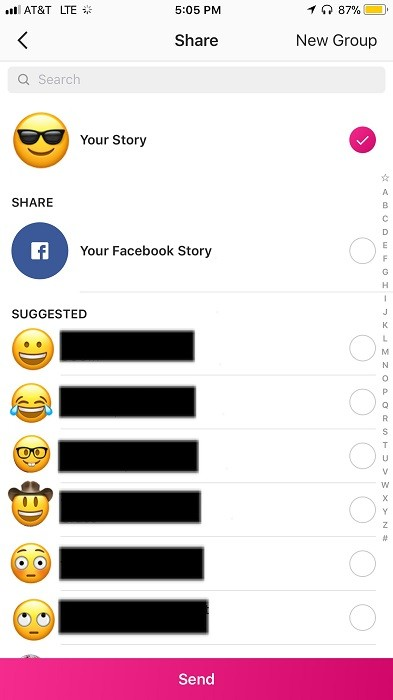 You can now share your Instagram Stories directly on Facebook