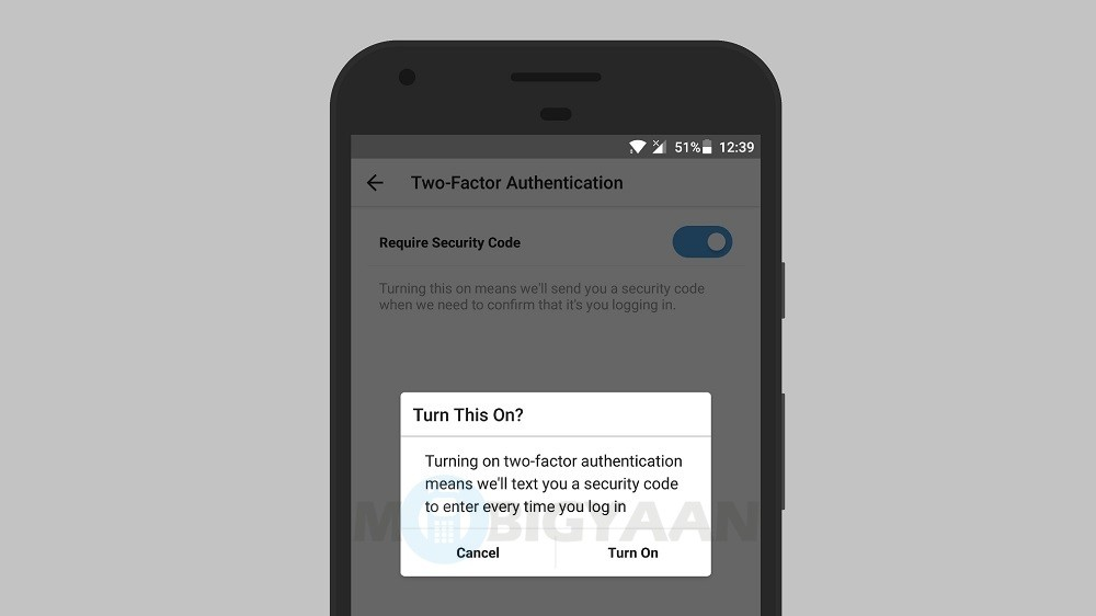 Instagram developing non-SMS based 2-factor authentication to protect its users from SMS hacking