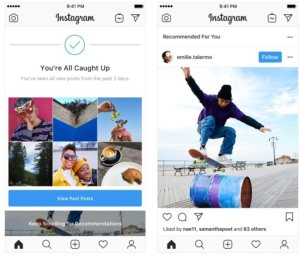 Instagram starts testing recommended posts in Feed again