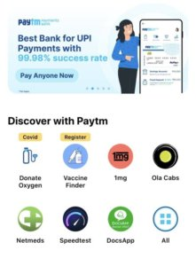 Paytm adds Vaccine Finder feature on its app to help users track slot availability