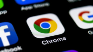 How to remove tab search button from Chrome title bar