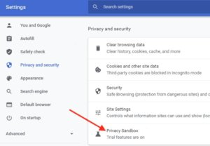 How to enable or disable Privacy Sandbox in Google Chrome