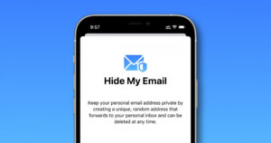 How to change Hide My Email forwarding address in iPhone