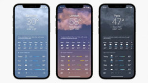 How to enable Weather notifications on Apple iPhone running iOS 15